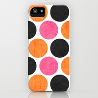 party polka dots iPhone & iPod Case by Her Art