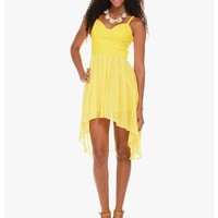 Yellow Miss Sunshine Bustier Dress | $10 | Cheap Trendy Club and Party Dresses Chic Discount Fashio