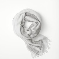 Rag & Bone - Lawn Scarf, Blue Powder Size 1