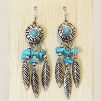 Turquoise Artiste Earrings