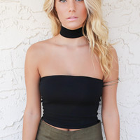 Denver Dream Choker Crop Top