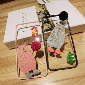 Iphone 6/6s Hot Deal Cute On Sale Stylish Apple Christmas Korean Accessory Lovely Phone Case [8365216577]