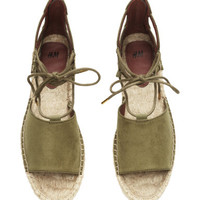 H&M Espadrilles with Laces $29.99