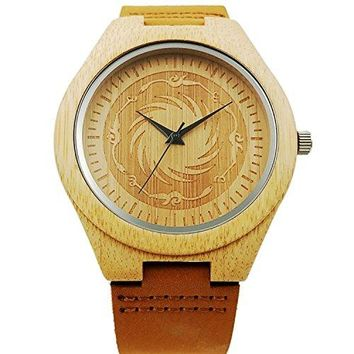 New Wood Watch Vintage Casual Quartz Wooden Wrist Watches for Men Women