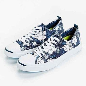CREYON converse jack purcell floral sneaker