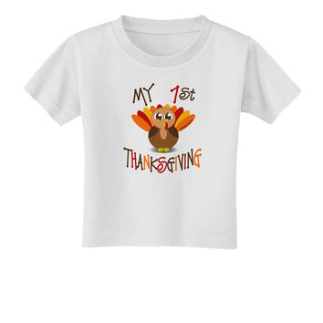 My 1st Thanksgiving Toddler T-Shirt