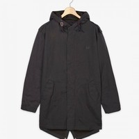 Fred Perry - Waxed Cotton Fishtail Parka