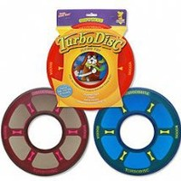 Booda Soft Bite Turbo Disc for Dogs | Frisbee Toys | Pawtastic Pet Supplies