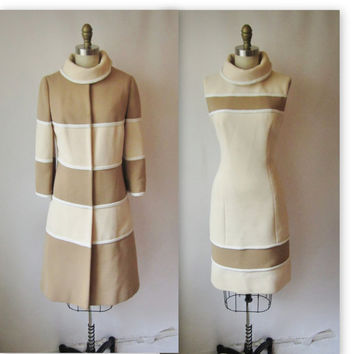 60's Lilli Ann Dress Set // Vintage 1960's Mod by TheVintageStudio