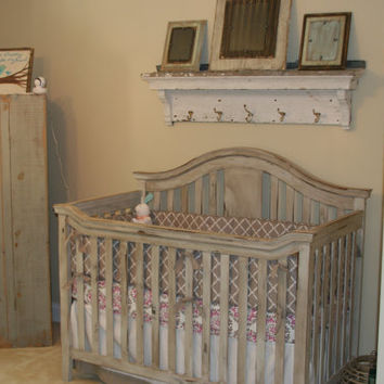 Vintage Look Baby Crib by VintageCribs on Etsy