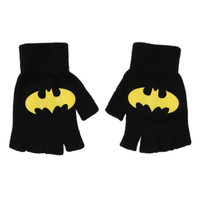 DC Comics Batman Logo Fingerless Gloves