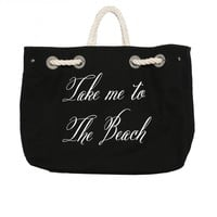 TAKE ME ON VACATION COPA CLUB BEACH BAG