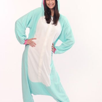 Kigurumi Shop | Blue Unicorn Kigurumi - Animal Costumes & Pajamas by Sazac