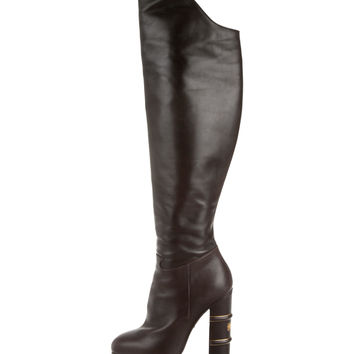 Charlotte Olympia Over-The-Knee Platform Boots
