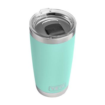 20 oz. DuraCoat Rambler Tumbler in Seafoam with Magslider™ Lid by YETI