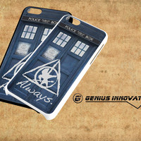 Tardis Doctor Who Hunger Games Always Harry Potter Samsung Galaxy S3 S4 S5 Note 3 , iPhone 4(S) 5(S) 5c 6 Plus , iPod 4 5 case