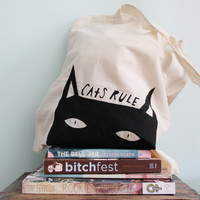 Mystery Goodie Tote Bag in Cats Rule