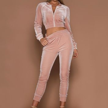 Two Piece Casual Tracksuit