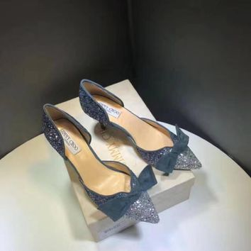 """JIMMY CHOO"" Shiny High Heels"