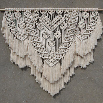 Large macrame wall hanging Large wall decor