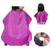 Free Shipping Children Salon Waterproof Hair Cut Hairdressing Barbers Cape Gown Cloth New Hot