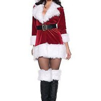 Sexy Adult Santa Claus Costume