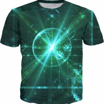 Peaceful Pixels | Rave & Festival Shirt