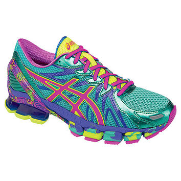 ASICS® GEL-Sendai™ 3 | Women's - Aqua Mint/Pink Glow/Electric Blue