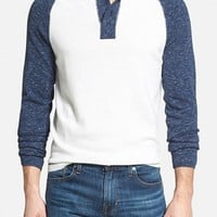 Men's Agave 'Surfers Point' Raglan Sleeve Henley