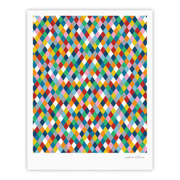 "Project M ""Harlequin"" Fine Art Gallery Print"