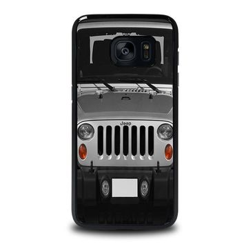 jeep samsung galaxy s7 edge case cover  number 1