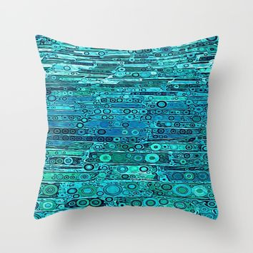 :: Tropical Sea :: Throw Pillow by :: GaleStorm Artworks ::