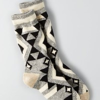 AEO 's Baja Boot Socks (White)