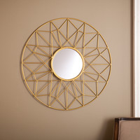 Upton Home Kenda Round Decorative Mirror | Overstock.com Shopping - The Best Deals on Mirrors