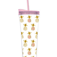 Pineapple Pattern Tumbler