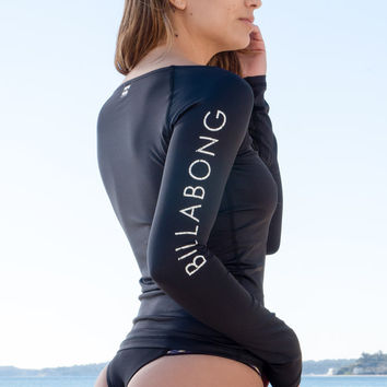 Billabong - Sol Searcher LS Rashguard | Black