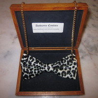 Ghost Cheetah Chain from Ambiance Couture Bowtie
