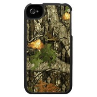 Hunting Camo iPhone 4 Case from Zazzle.com