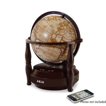 Akai Bluetooth Speaker with Rotating Globe - Walmart.com