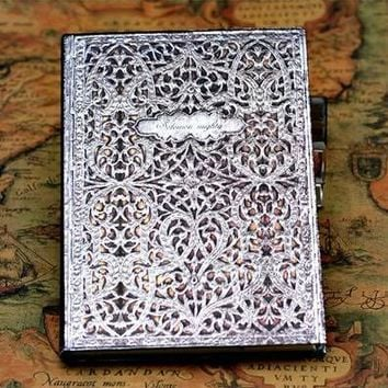 2017 New European Vintage Harcover Notebook Dairy Journal for Gift Four Covers with Hot Stamping and Debossing