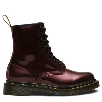 DR MARTENS VEGAN 1460 CHROME