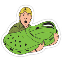 'Crikey!' Sticker by BenClark