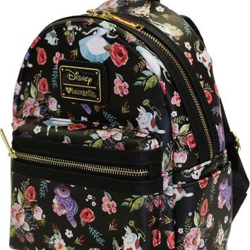 Alice Floral Characters   MINI BACKPACK