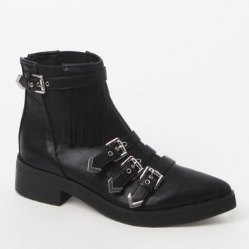 Matisse Turner Buckled Ankle Boots at PacSun.com