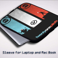 twenty one pilots X0391 Sleeve for Laptop, Macbook Pro, Macbook Air (Twin Sides)