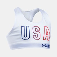 Girls' UA HeatGear® Armour USA Sports Bra | Under Armour US