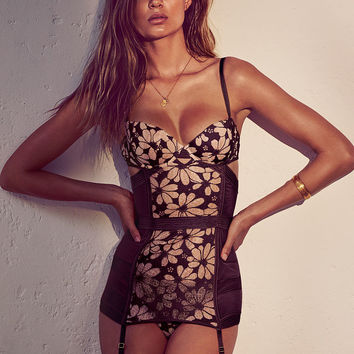 Floral Embroidered Garter Slip - Very Sexy - Victoria's Secret