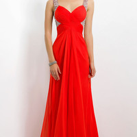 Long Sweetheart Formal Gown