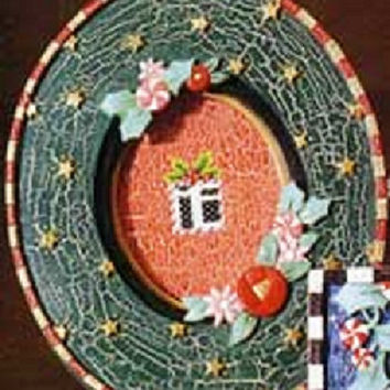 Mary Engelbreit Oval Holiday Picture Frame - ME77231