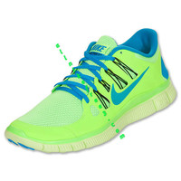 Cheap Nike Free 5.0 Mens Flash Lime Blue Hero 579959 340 hot sale online.